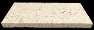 Nerissa Sea Stone Unfilled 12x24 Pool Coping, Square Edge