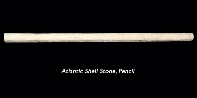 Ass Pencil Molding Honed Unfilled .5x.5x12