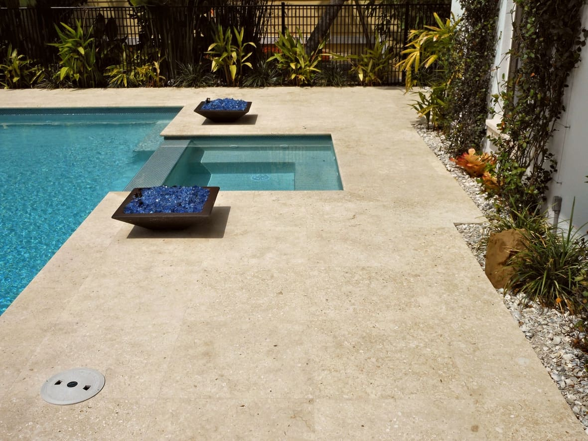 Atlantic Shell Stone Install Honed Unfilled
