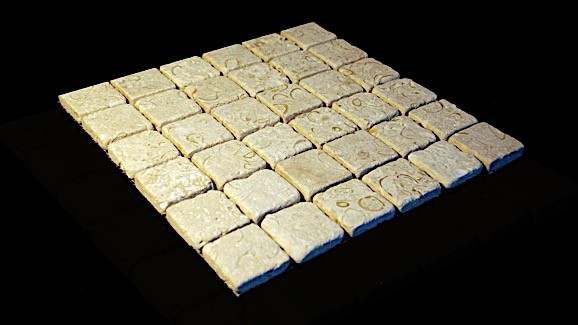Atlantic Shell Stone, Tumbled 2x2