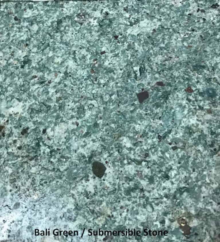 Bali Green, Submersible Stone