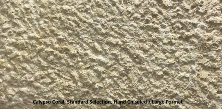 Calypso Coral, Hand Chiseled, Standard Selection
