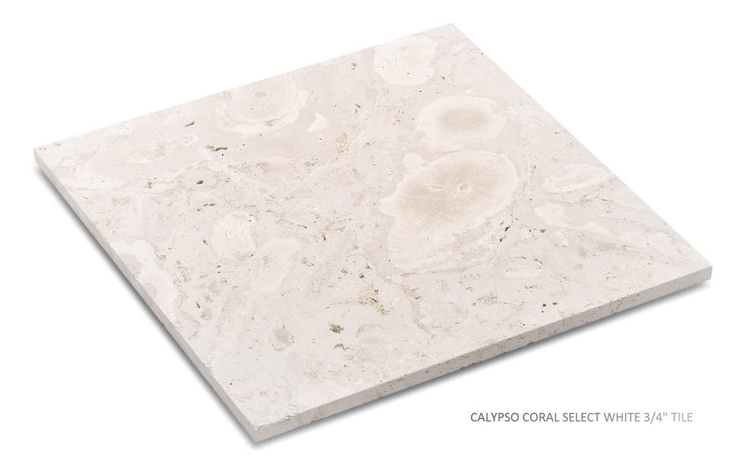 Calypso Coral Select White Unfilled