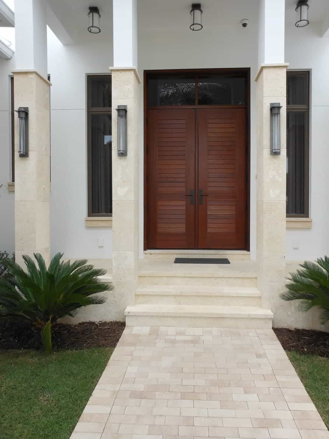 Calypso Coral, Standard Selection, Columns, Treads, Cladding