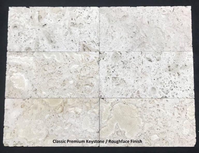 Classic Premium Keystone, Roughface Finish