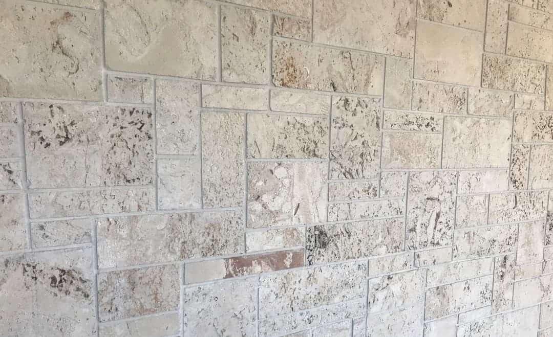 Classic Premium Keystone, Saw Cut, Wall Cladding, Random Pattern #2