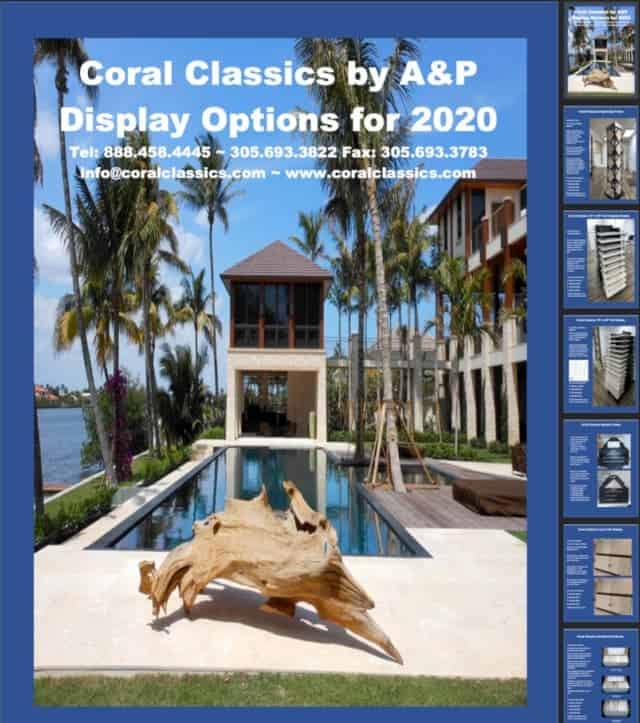 Coral Classics By A&p, Display Options 2020