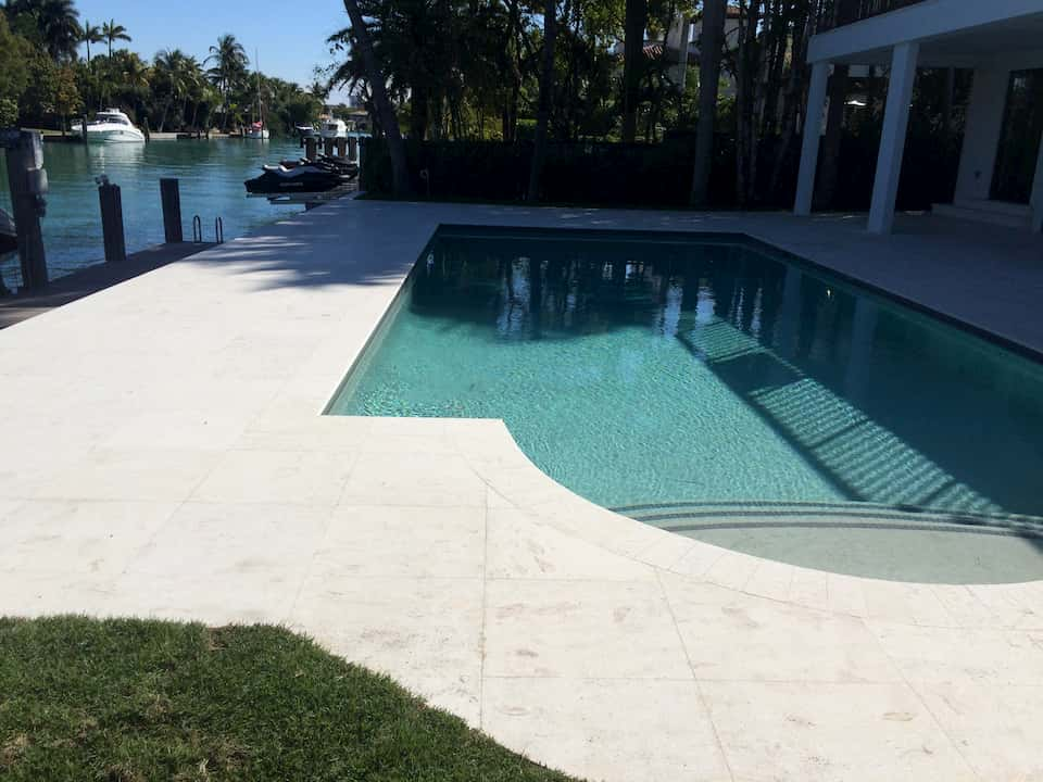 Coral Reef White Install Pic Pool