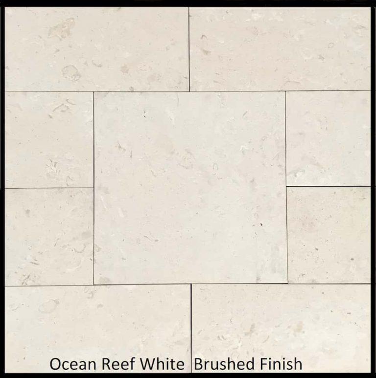 Ocean Reef White Brushed Finish 2019