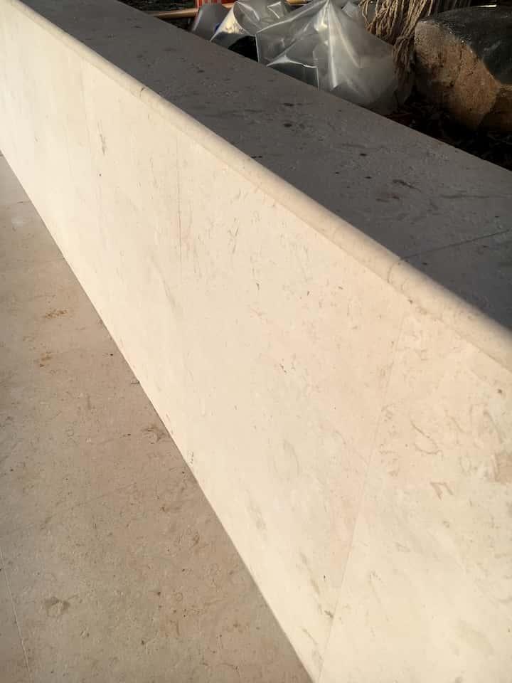 Ocean Reef White Cladding, Wall Cap & Flooring