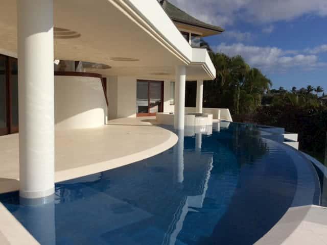 Ocean Reef White Hawaii Pool Deck & Ceiling #1 2017