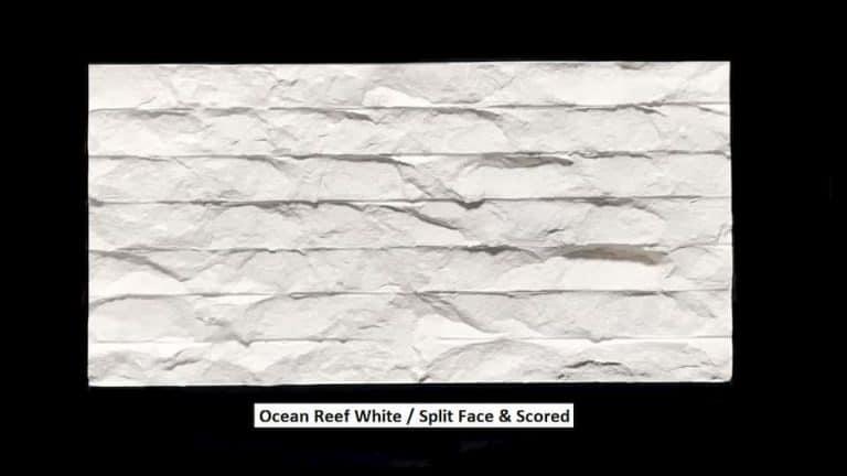 Ocean Reef White Split Face & Scored 1