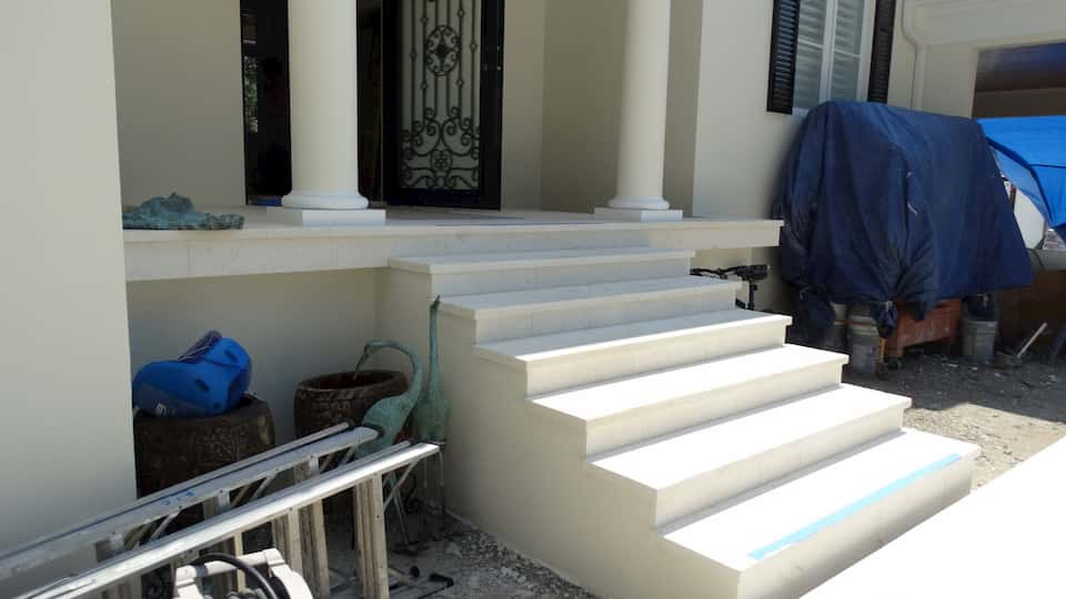 Ocean Reef White Steps And Risers