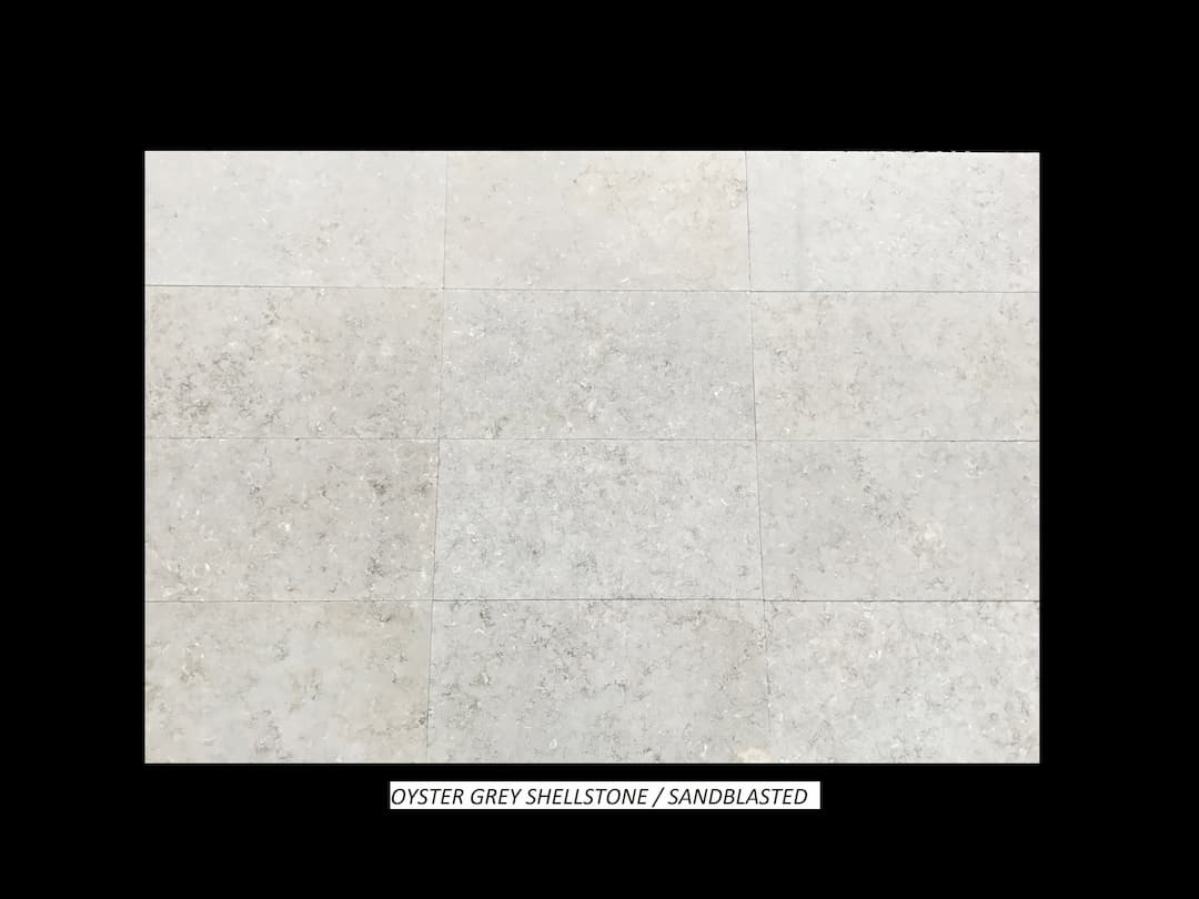 Oyster Grey Sandblasted#2