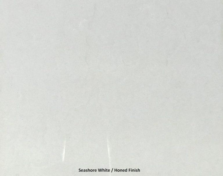 Seashore White Honed Finish