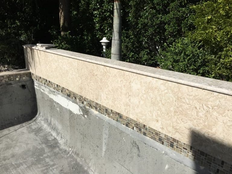 Shells Reef Beige Coping And Tiles Pool Spill Over 2016
